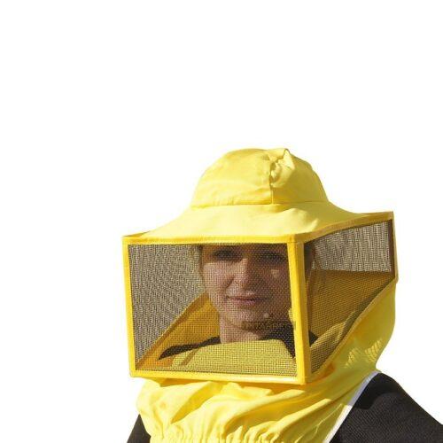 maschera quadrata a cappello